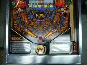 Williams Fire - Playfield Lower
