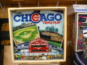 Gottlieb Chicago Cubs - Backglass