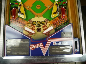 Gottlieb Chicago Cubs - Playfield Lower