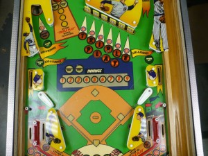 Gottlieb Chicago Cubs - Playfield Middle 2