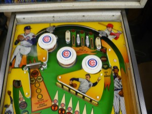 Gottlieb Chicago Cubs - Playfield Upper