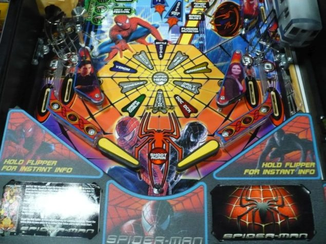Limited-Edition Spider-Man Pinball Image