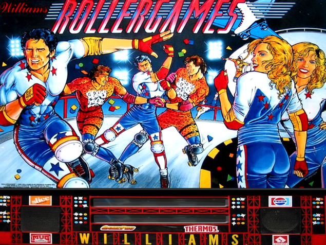 Williams Rollergames Image