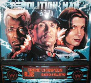 Williams Demolition Man Image