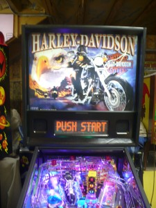 Harley Davidson - Backbox