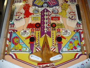 Gottlieb Flipper Parade - Playfield Lower