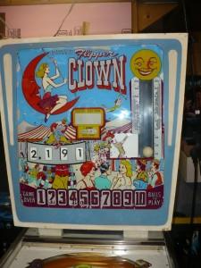 Flipper Clown - Backglass