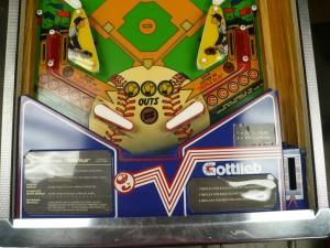 Gottlieb Chicago Cubs - Playfield Lower