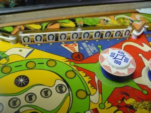 Gottlieb Sheriff - Middle Playfield Detail